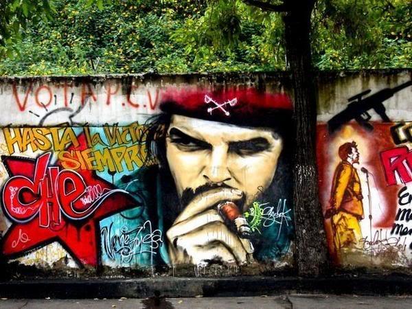 Che Guevara Graffiti |Murales