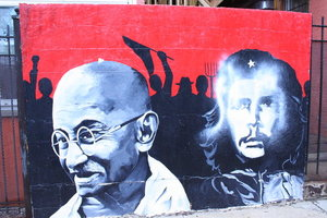 Gandhi_and_Che_by_MoreThanNothing